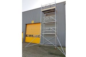 Custers CR Mobile Guard 1,3×2,5m – H: 9m – Light vloeren – Actie