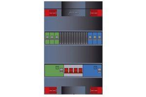 Attema Click-mate XL-plus XLVG Installatiekast 380x220x100, 3 fasen, 6 gr