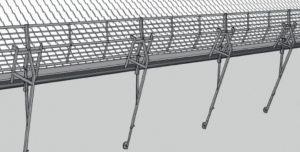 Ladderlift 13 mtr